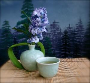 Green Tea Lady's tea and hyacinth and ginseng oolong.