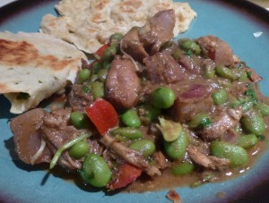 Chicken Tagine with Naan