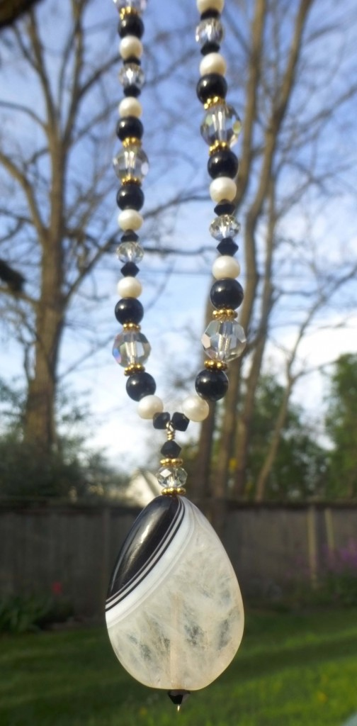 Tuxedo Agate necklace 1